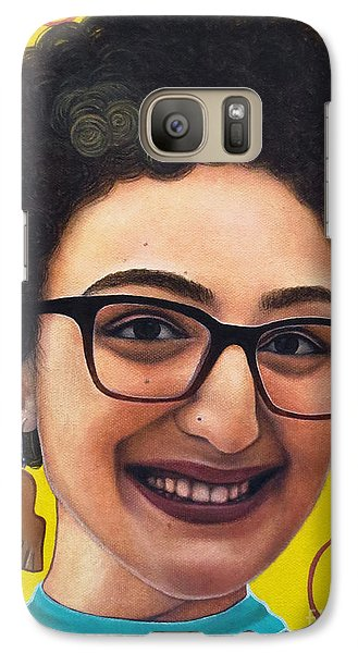 Galaxy Case featuring the painting True Beauty - Sheba Devonish by Malinda Prudhomme