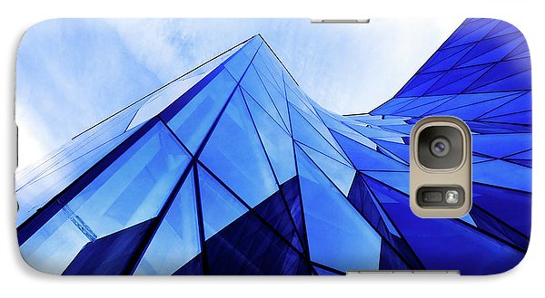 Galaxy Case featuring the photograph True Blue by Stefan Nielsen