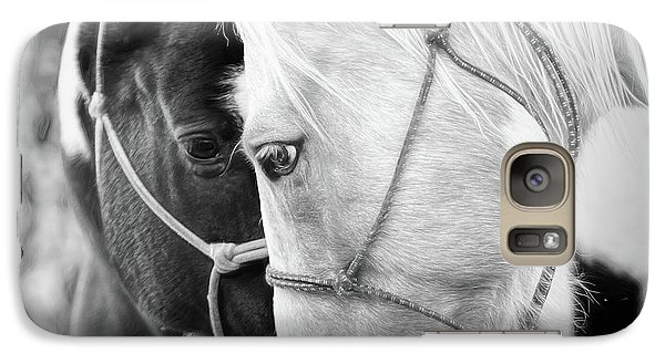 Galaxy Case featuring the photograph True Friends by Sharon Jones