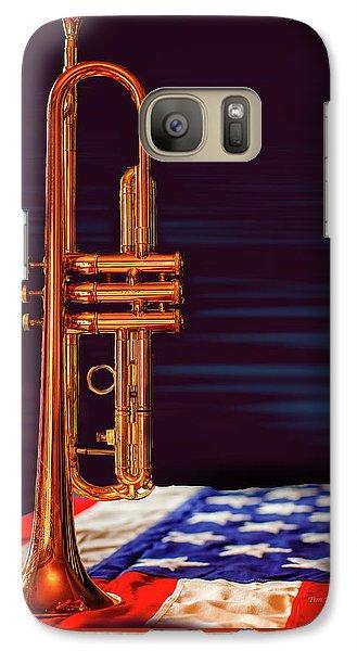 Trumpet-close Up Galaxy S7 Case
