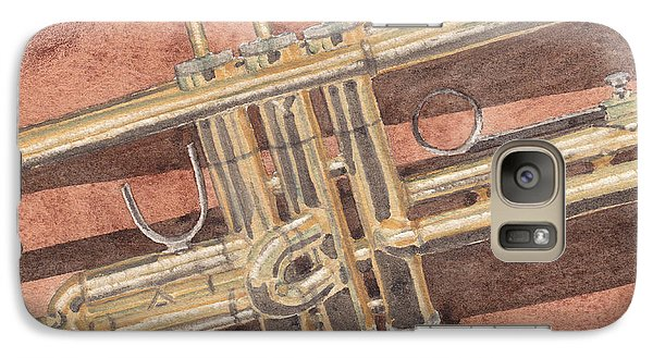 Trumpet Galaxy S7 Case by Ken Powers