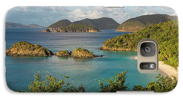 Galaxy Case featuring the photograph Trunk Bay Morning by Adam Romanowicz