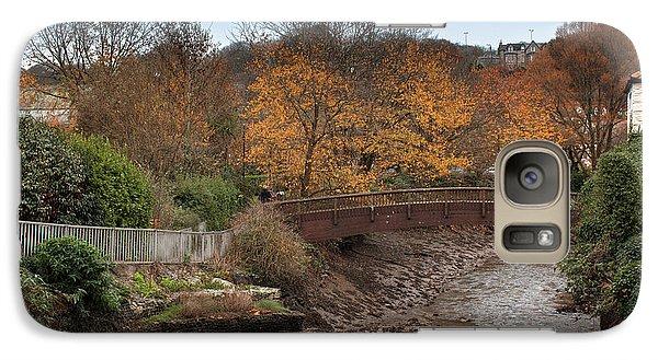 Galaxy Case featuring the photograph Truro River by Brian Roscorla