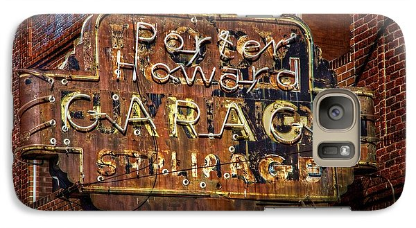 Galaxy Case featuring the photograph Trust In Rust by Linda Unger