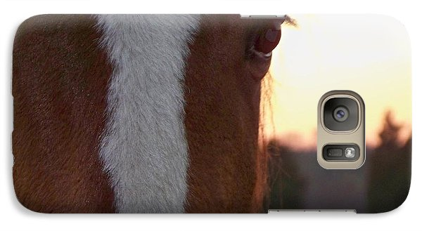 Galaxy Case featuring the photograph Trusting by Betty Northcutt