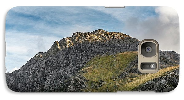 Galaxy Case featuring the photograph Tryfan Snowdonia by Adrian Evans