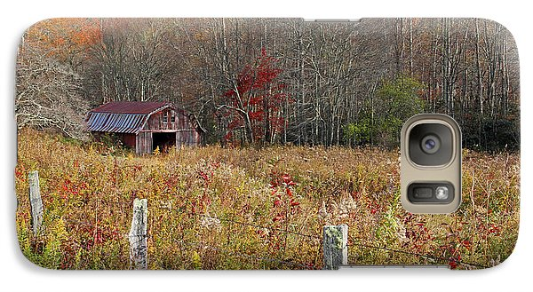 Galaxy Case featuring the photograph Tucked Away - Barns by HH Photography of Florida