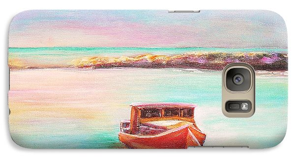 Galaxy Case featuring the painting Tucked In by Patricia Piffath