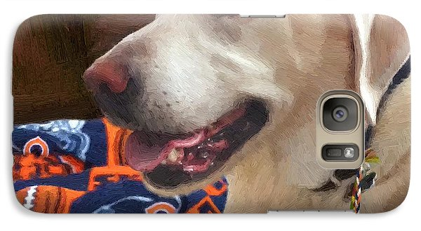 Galaxy Case featuring the painting Tucker by Doug Kreuger