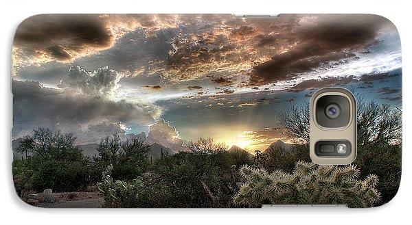 Tucson Mountain Sunset Galaxy S7 Case