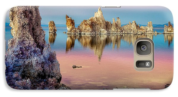 Galaxy S7 Case featuring the photograph Tufas At Mono Lake by Rikk Flohr