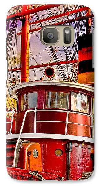 Galaxy Case featuring the photograph Tugboat Helen Mcallister by Chris Lord