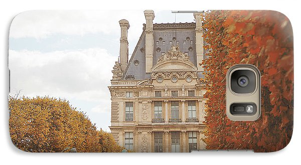 Galaxy Case featuring the photograph Tuileries Garden In Fall by Ivy Ho