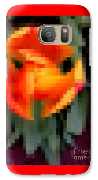 Galaxy Case featuring the photograph Tulip 1 Honoring Princess Diana by Richard W Linford