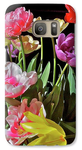 Galaxy Case featuring the photograph Tulip 8 by Pamela Cooper