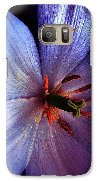 Galaxy Case featuring the photograph Tulip Convert by Gwyn Newcombe