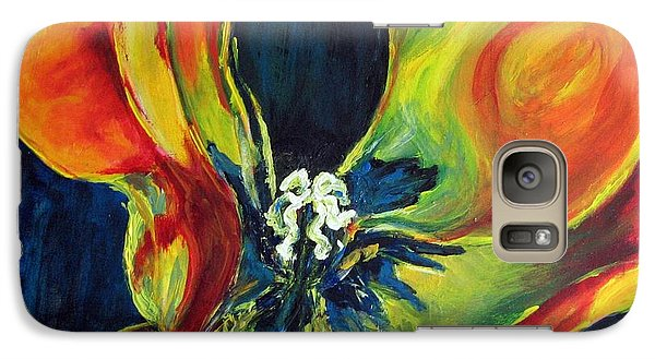 Galaxy Case featuring the painting Tulip by Dragica  Micki Fortuna