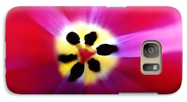 Tulip Vivid Floral Abstract Galaxy S7 Case