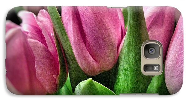Galaxy Case featuring the photograph Tulip143 by Olivier Calas