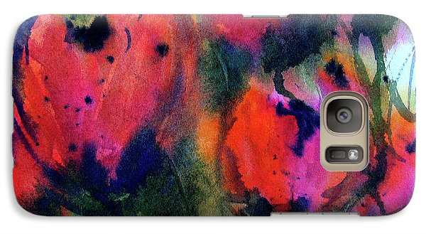 Galaxy Case featuring the painting Tulips 2 by Marti Green