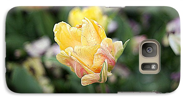 Galaxy Case featuring the photograph Tulips by Diana Mary Sharpton