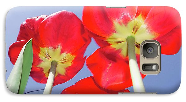 Galaxy Case featuring the photograph Tulips by Elvira Ladocki
