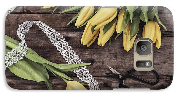 Galaxy Case featuring the photograph Tulips Of Spring by Kim Hojnacki
