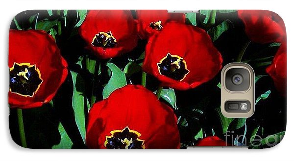 Galaxy Case featuring the photograph Tulips by Vanessa Palomino