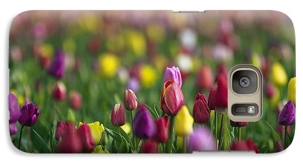Galaxy Case featuring the photograph Tulips by William Lee
