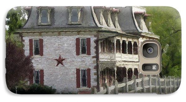 Galaxy Case featuring the photograph Tulpehocken Manor Plantation Historic Site  by David Dehner