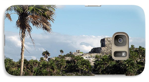 Galaxy Case featuring the photograph Tulum Mexico by Dianne Levy