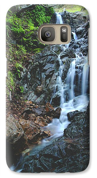 Galaxy Case featuring the photograph Tumbling Down by Laurie Search