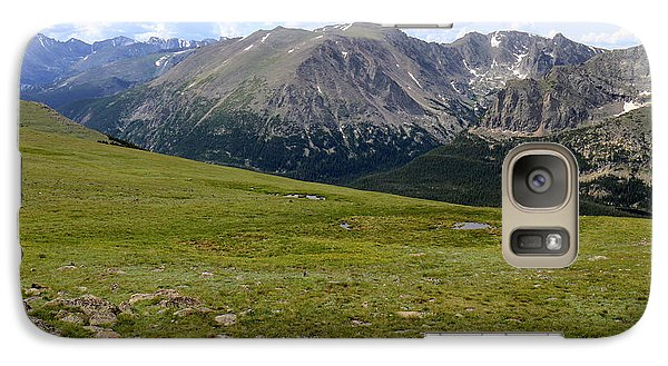 Galaxy Case featuring the photograph Tundra Of The Rockies by Scott Kingery