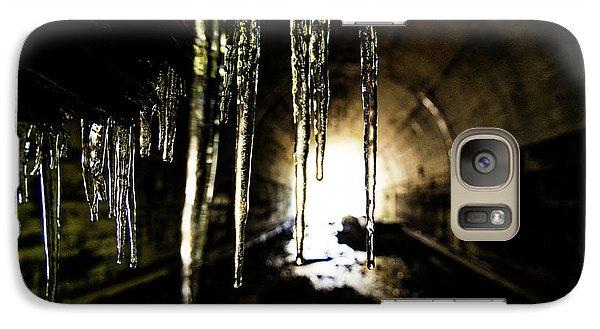 Dungeon Galaxy S7 Case - Tunnel Icicles by Pelo Blanco Photo