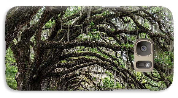 Galaxy Case featuring the photograph Tunnel In Charleston by Jon Glaser