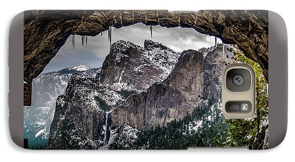 Galaxy Case featuring the photograph Tunnel View From The Tunnel by Bill Gallagher