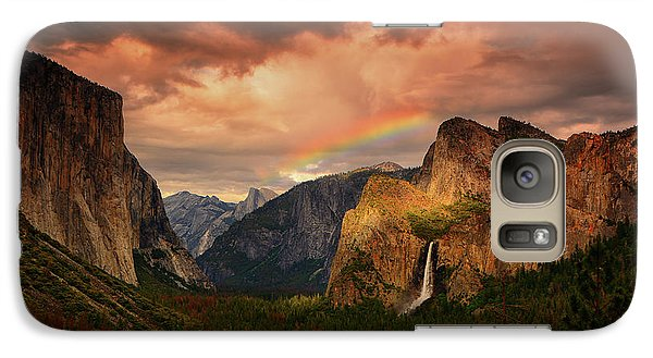 Tunnel View Rainbow Galaxy S7 Case