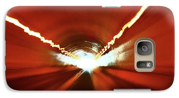 Galaxy Case featuring the photograph Tunnel Vision by Gray  Artus