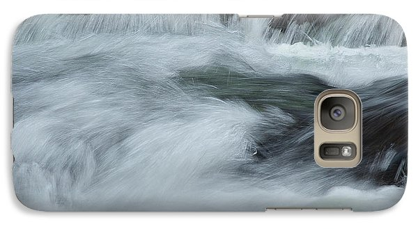 Galaxy Case featuring the photograph Turbulence  by Mike Eingle