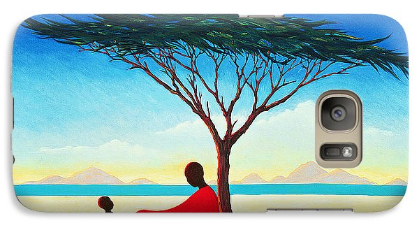 Desert Galaxy S7 Case - Turkana Afternoon by Tilly Willis