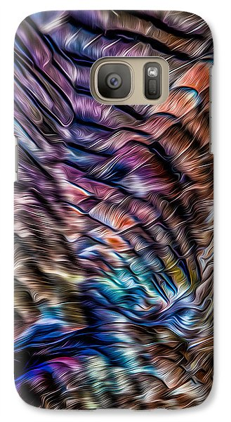 Galaxy S7 Case featuring the photograph Turkey Sides by Rikk Flohr