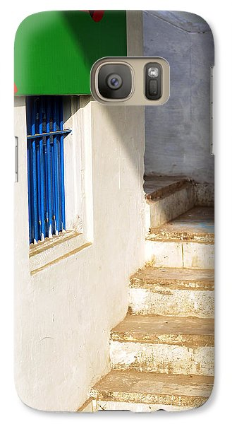 Galaxy Case featuring the photograph Turn Left by Prakash Ghai