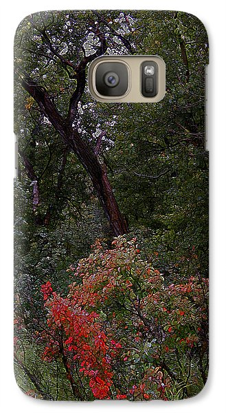 Galaxy Case featuring the digital art Turning by Stuart Turnbull