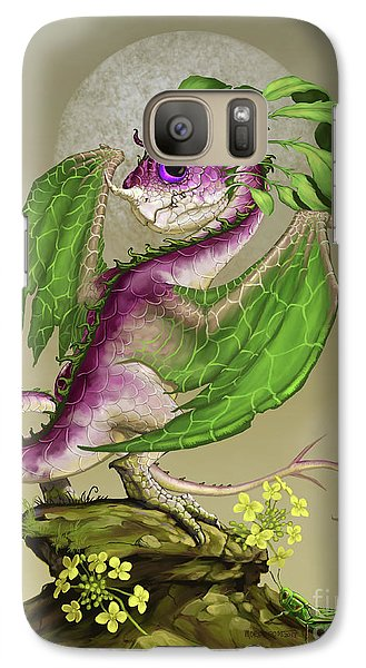 Cricket Galaxy S7 Case - Turnip Dragon by Stanley Morrison
