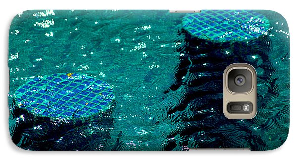 Galaxy Case featuring the photograph Turqueped by Jez C Self