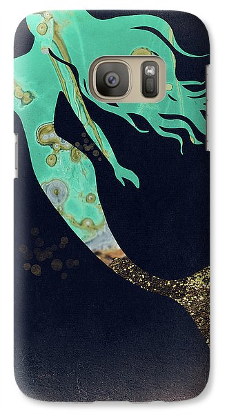 Extinct And Mythical Galaxy S7 Case - Turquoise Mermaid by Mindy Sommers