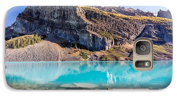 Galaxy Case featuring the photograph Turquoise Water Of The Scenic Lake Louise by Pierre Leclerc Photography