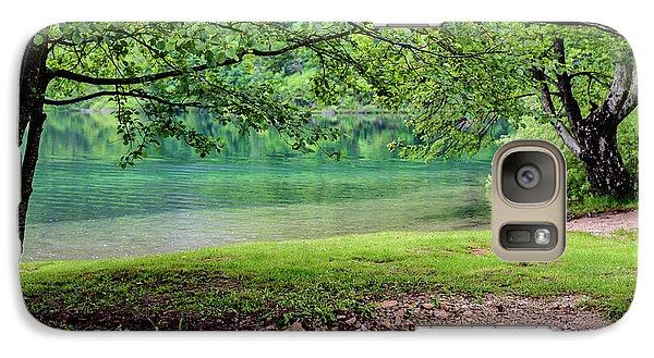 Turquoise Zen - Plitvice Lakes National Park, Croatia Galaxy S7 Case