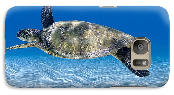 Turtle Flight -  Part 2 Of 3  Galaxy S7 Case by Sean Davey