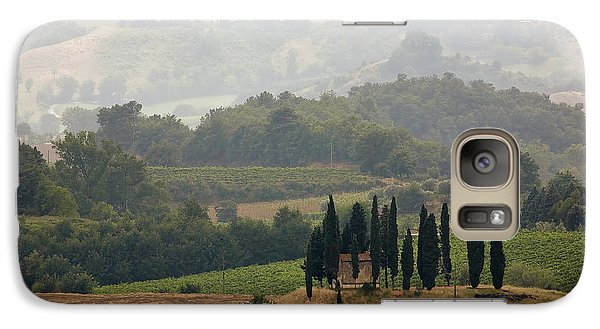 Galaxy Case featuring the photograph Tuscan Landscape by Stefan Nielsen